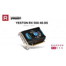 Видеокарта AMD Radeon RX 550 4Gb 128 bit Yeston