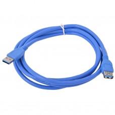Дата кабель подовжувач USB3.0 AM/AF Cablexpert (CCP-USB3-AMAF-6)