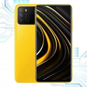 Мобильный телефон Xiaomi POCO M3 4/128Gb Yellow ксиоми поко м3