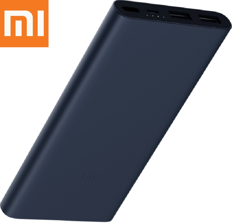 Банк заряда Xiaomi Mi Power Bank 2s 10000 mAh Оригинальная УМБ 2xUSB QC2.0 PLM09ZM VXN4230GL