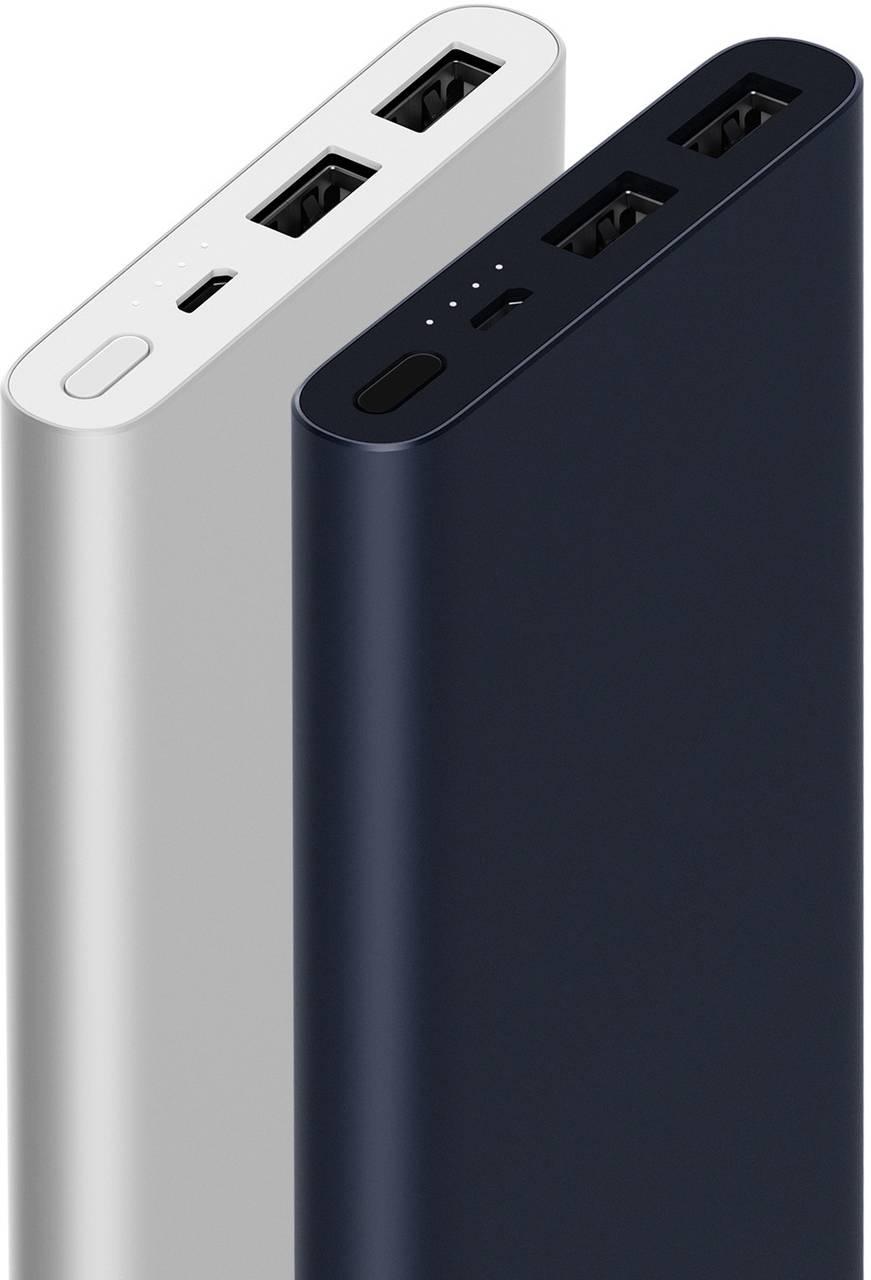 Оригинальный Банк заряда Xiaomi Mi Power Bank 2s 10000 mAh УМБ 2xUSB QC2.0 PLM09ZM (VXN4231GL)