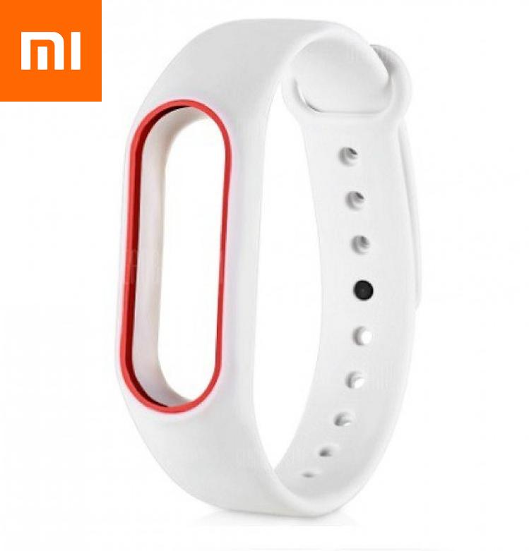 Ремешок для Xiaomi Mi Band 3 Красно-Белый Оригинальное Качество