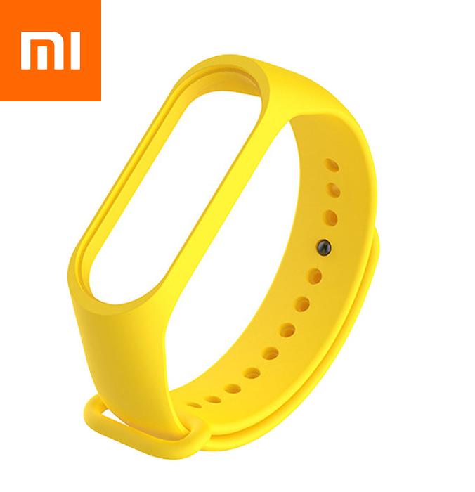 Ремешок для Xiaomi Mi Band 4 Желтый Оригинальное Качество