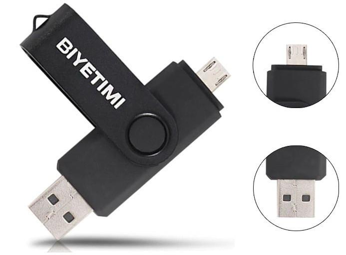USB накопитель 32Gb с MicroUSB Флешка