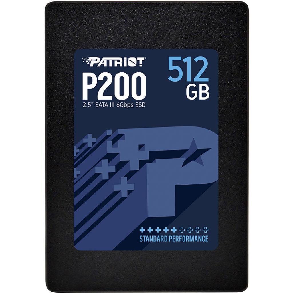 "Накопитель SSD 2.5"" 512GB Patriot (P200S512G25)"