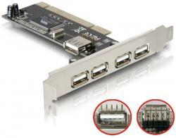 Контроллер PCI-USB 4+1 port