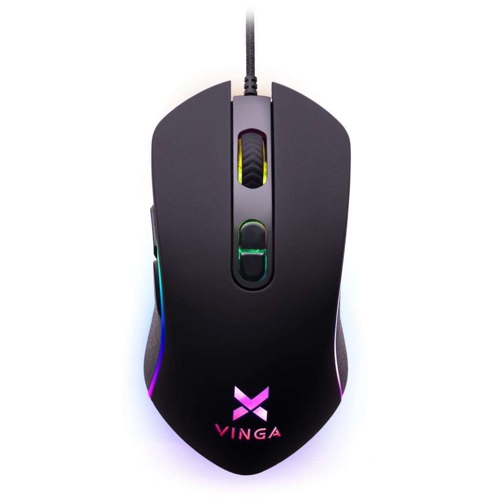 Мышка Vinga MSG-185 Black