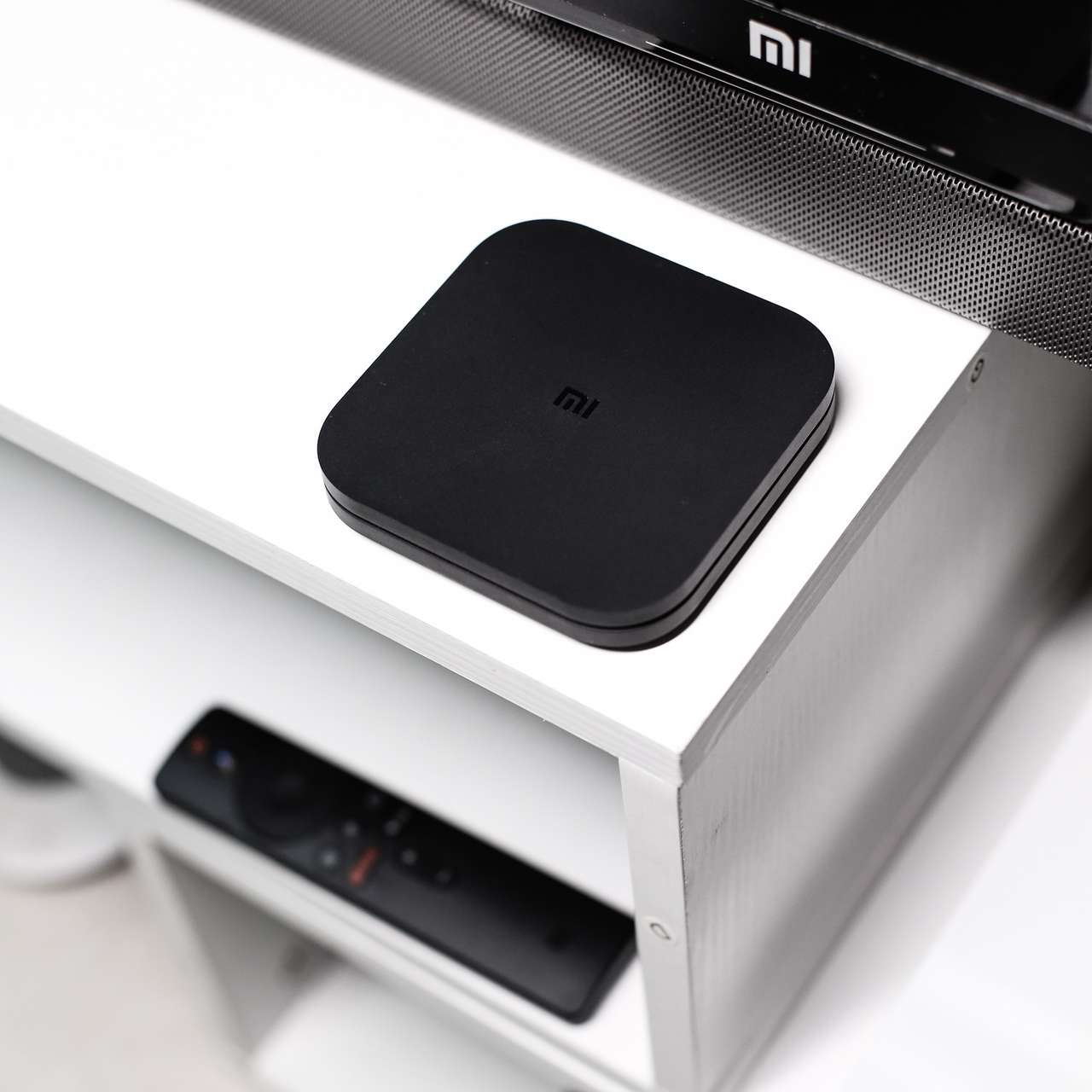 Приставка Xiaomi Mi Box S 4K Глобальная Версия Сяоми MDZ-22-AB