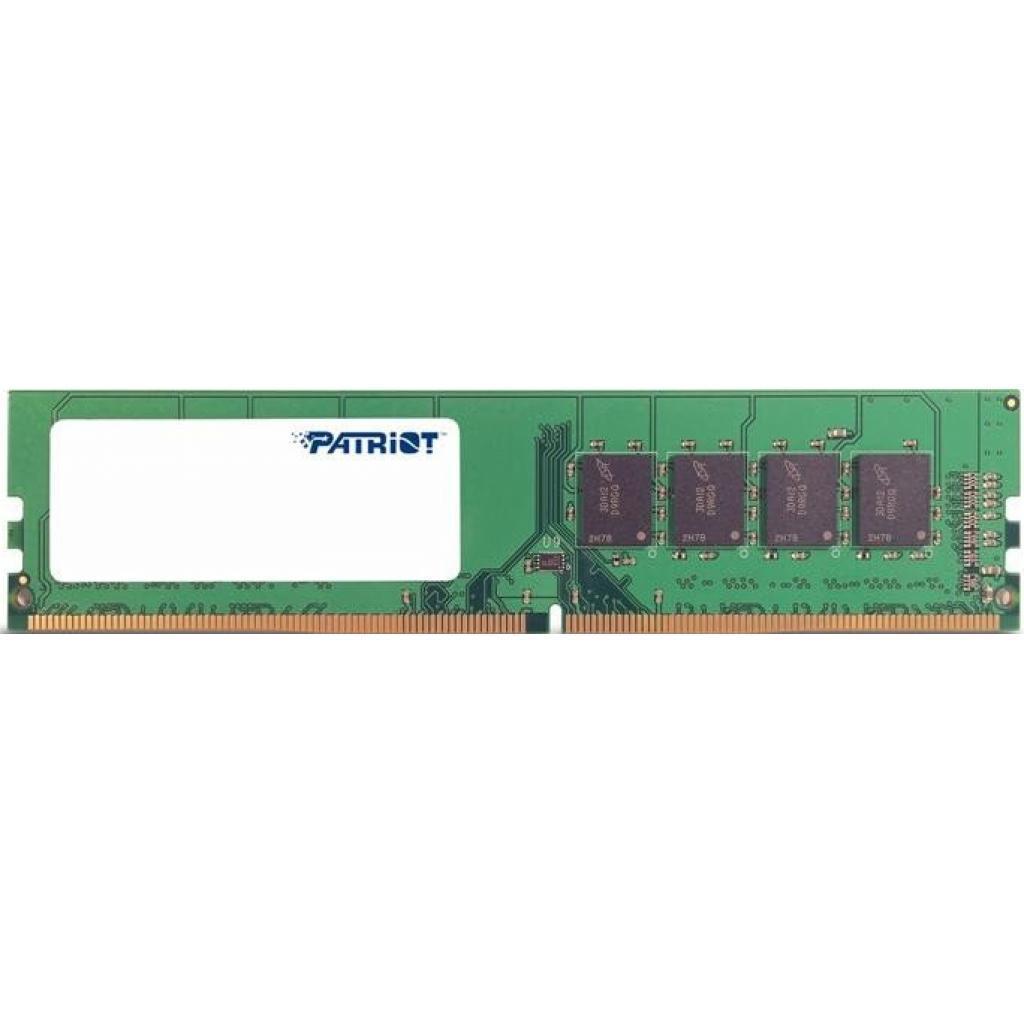 Модуль памяти DDR4 8GB 2400MHz Patriot (PSD48G240081)