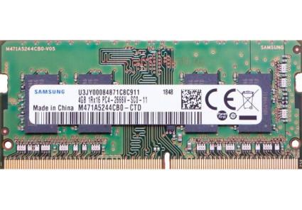 Модуль памяти SO-DIMM DDR4 4GB 2666MHz Samsung
