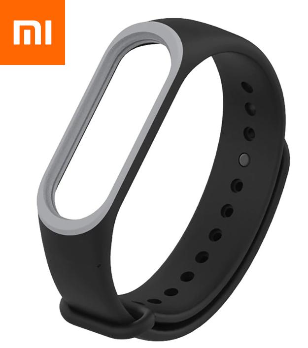 Ремешок для Xiaomi Mi Band 4 Черный Оригинальное Качество Black