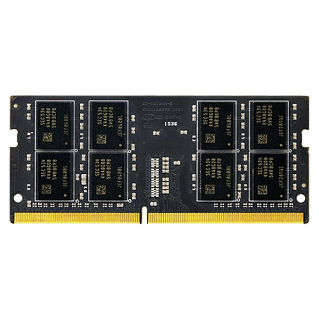 Модуль памяти SO-DIMM DDR4 8Gb 2400MHz Team Elite (TED48G2400C16-S01)