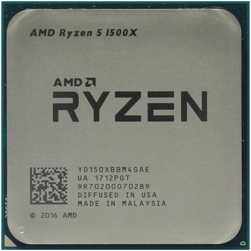 Процессор AMD Ryzen 5 1500X tray