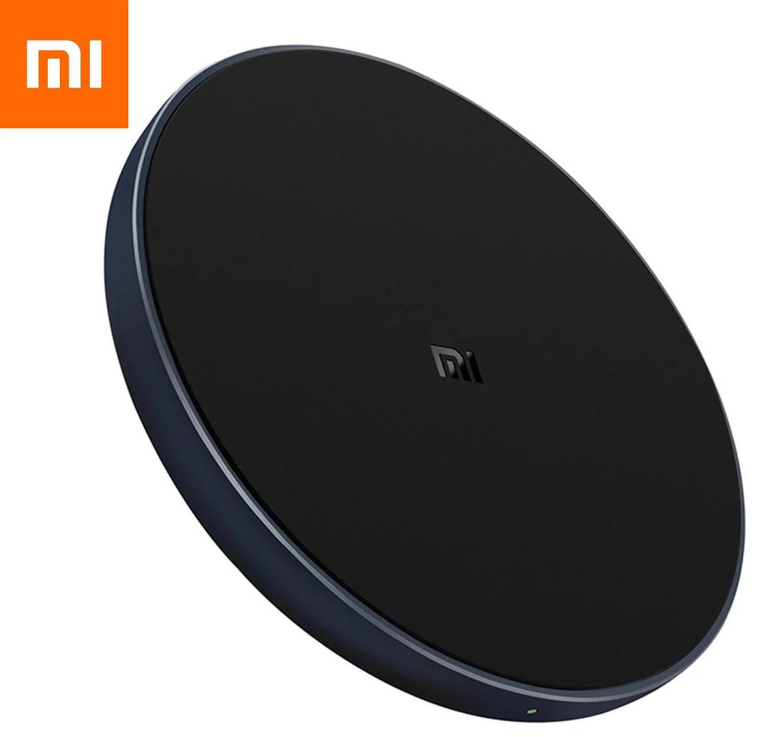 Оригинал Xiaomi Mi Wireless Charger 10W WPC01ZM black GDS4095CN Беспроводное зарядное устройство Qi