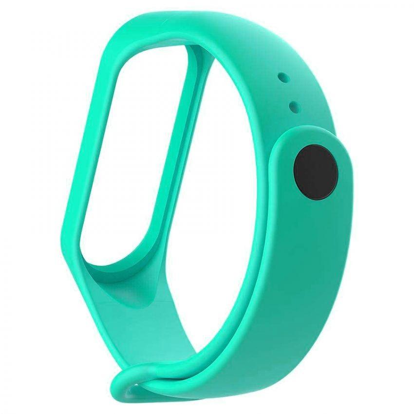 Ремешок для Xiaomi Mi Band 3 Mint Green Оригинальное Качество Мятно Зеленый