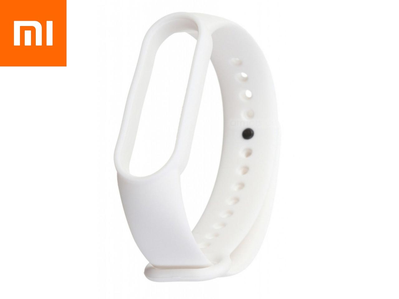 Ремешок для Xiaomi Mi Band 5 Белый Оригинальное Качество White