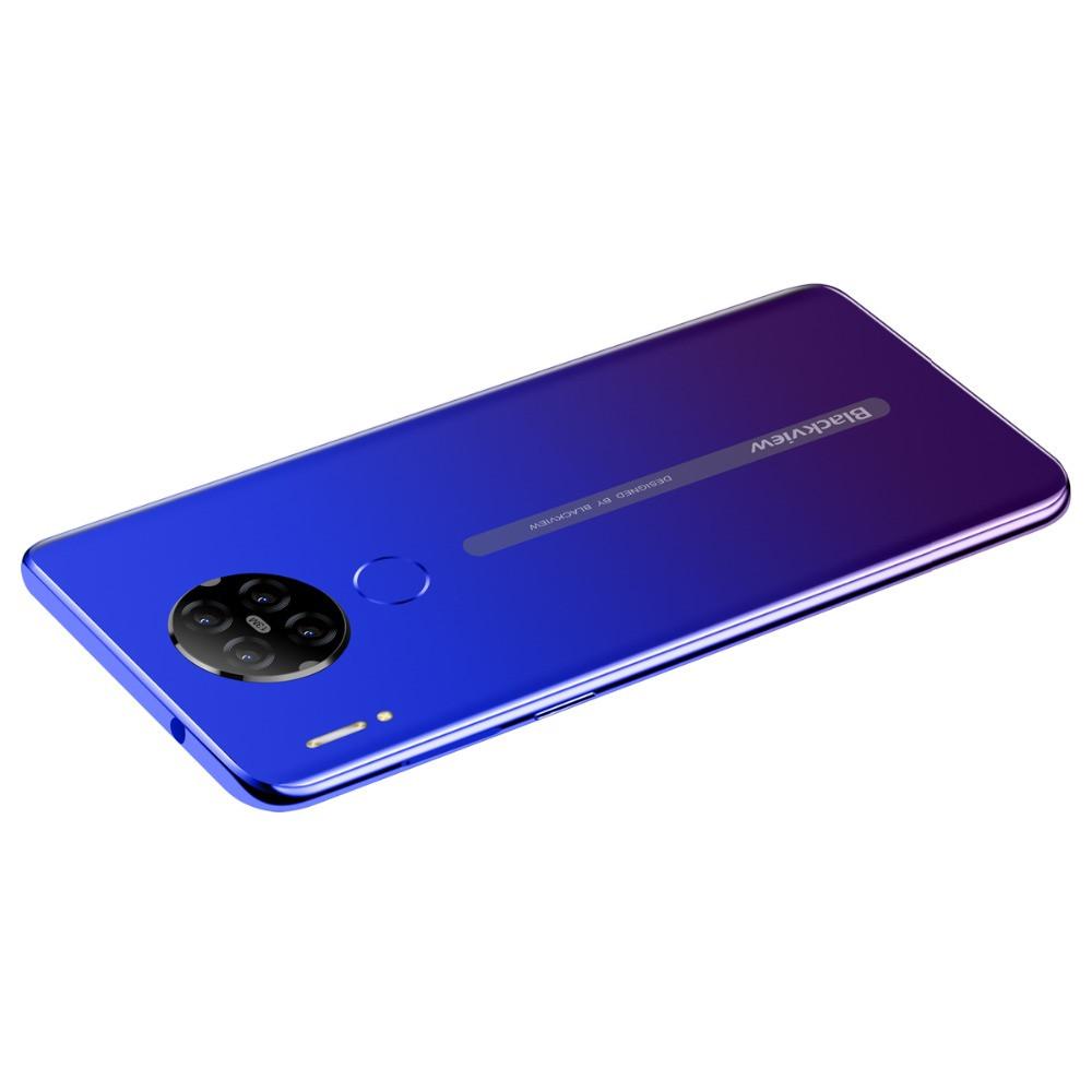 Бюджетный смартфон Blackview A80 красный