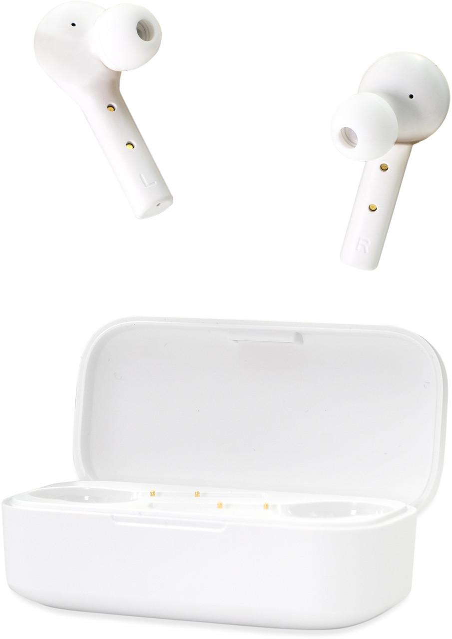 Белые беспроводные наушники QCY T5 TWS Сенсорные